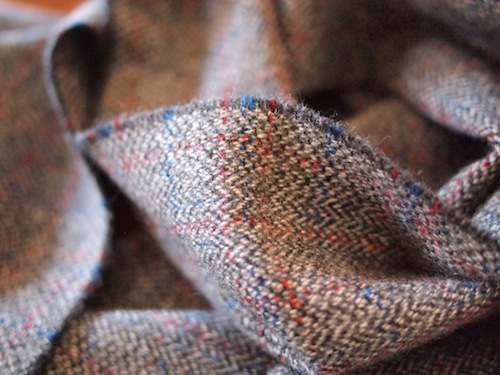 Johnstons' Marl Tweed Cashmere Scarf