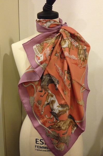 hermes horse scarf