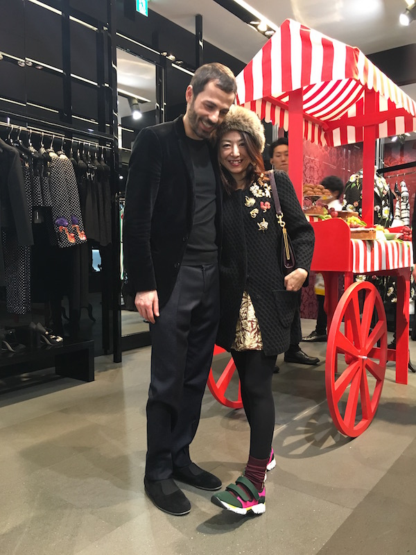 DOLCE & GABBANA ginza store event